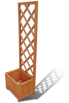 Fioriera Traliccio 40×30×135 cm