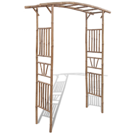 Pergola Bambù