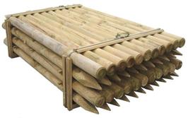 6 Pali in legno impregnato