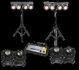 Lichtanlage / Licht-Set groß