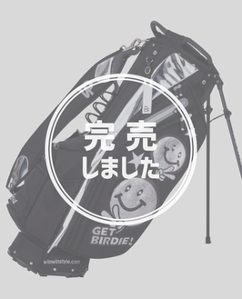 WINWIN STYLE GET BIRDIE! スパンコール LIGHT WEIGHT STAND BAG(CB-952,953,954,955)