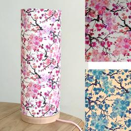 LAMPE A POSER socle Cerisier coloris au choix