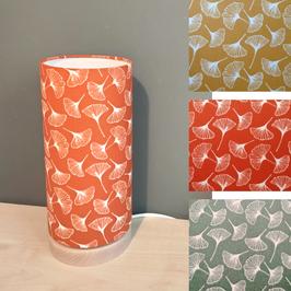LAMPE A POSER SOCLE Gingko coloris au choix
