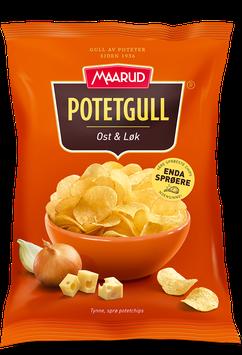 Potetgull Ost & Løk