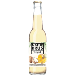 Naturbrus Tropisk 0,275l Glasflaske