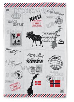 Kjøkkenhåndkle, Norway trykk