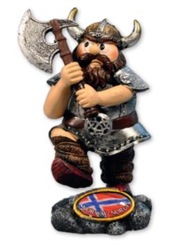 Vikingfigur med øks