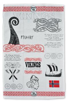 Kjøkkenhåndkle, Viking trykk