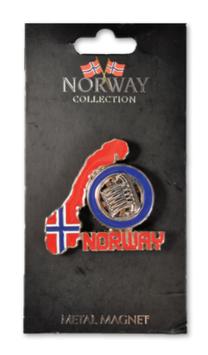 Metall magnet, Kart med Vikingskip