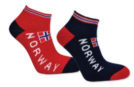Tykke korte sokker,flagg