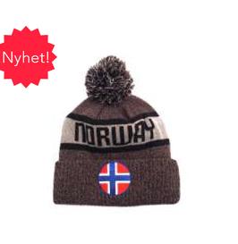 Lue Norway grå