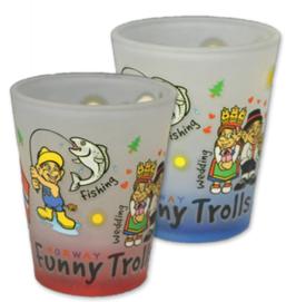 2 x Drammebeger, Funny Trolls