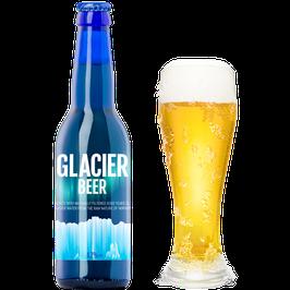 Glacier Beer 0,33l Glasflaske, 4,7% Alkohol