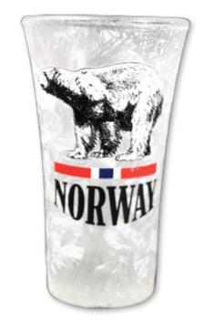 Frostet shotglass, Isbjørn