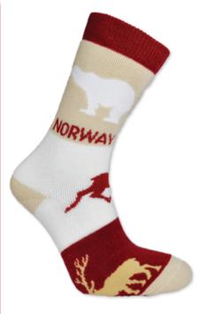 Tykk sokk, Dyr, rød
