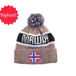 Lue Norway grå/blå