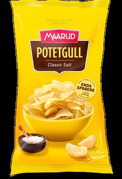 Potetgull Classic Salt