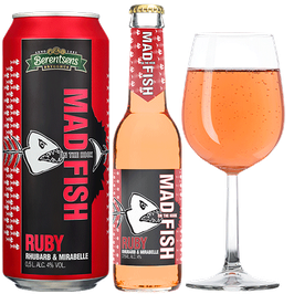 Mad Fish Ruby 4% Alkohol
