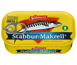 Makrellfilet 100g in Tomatensosse