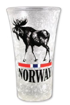 Frostet shotglass, Elg