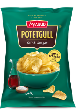 Potetgull Salt & Vinegar