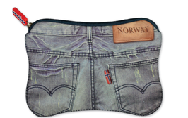 Stor pung, Jeans