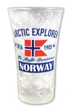Frostet shotglass, Arctic Explorer