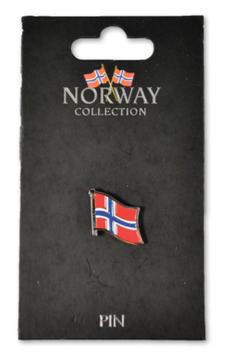 Pins, Norsk flagg