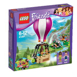 El globo de Heartlake (  Lego Friends
