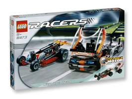 Nitro Race team (Lego Racers)