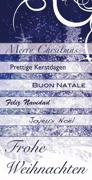 Elegance - Weihnachtskarte Nr. 133