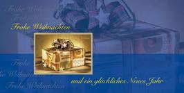 Elegance - Weihnachtskarte Nr. 705b