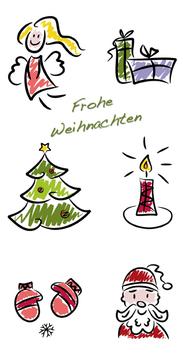 Elegance - Weihnachtskarte Nr. 126