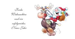 Fun - Weihnachtskarte Nr. 577b