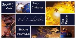 Elegance - Weihnachtskarte Nr. 140