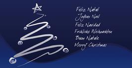 Elegance - Weihnachtskarte Nr. 109