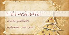 Elegance - Weihnachtskarte Nr. 129