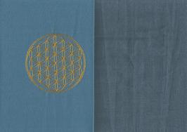Blume des Lebens Blau + Rauchblau