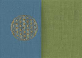 Blume des Lebens Blau + Pistazie