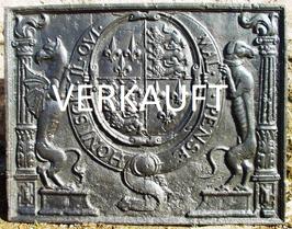 """Tudor Wappen von England """"""""Honi soit qui mal y pense"""""""" - Tudor Arms of England"""