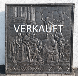ID 75 - Handelsszene im Hafen mit Merkur - Trading scenery in the harbour with Mercury