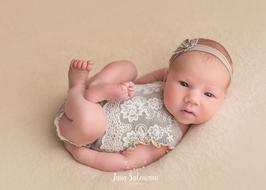 Babyfotografie Set Babyshooting Haarband