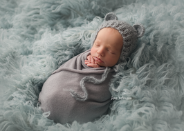 Baby fotografie Haarband Baby und Haube Neugeborenen Fotografie Mohair Taufe Hochzeit neugeborene Grau