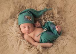 Fotoaccessoire Hose Mütze Newborn Babyfotografie