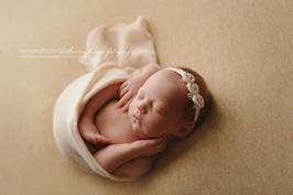 Baby fotografie Blumen Haarband Baby Haarband Neugeborenen Fotografie Baby Taufe Hochzeit neugeborene haarband grau creme blume