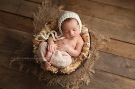 Babyfotografie Häkel Outfit Fotoshooting