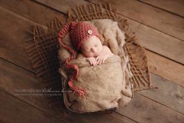 Fotoaccessoire Mütze Neugeborene Babyfotografie