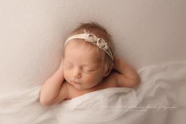 Fotoaccessoire Haarband Babyfotografie newborn