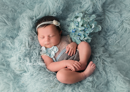 Wundervolles Outfit Baby Fotografie Haarband & Body