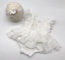 Babyfotografie Set Body und Haarband
